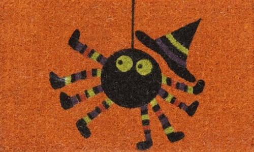 完美的鬼蜘蛛门垫