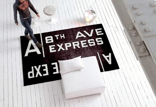手工制作的现代挂毯