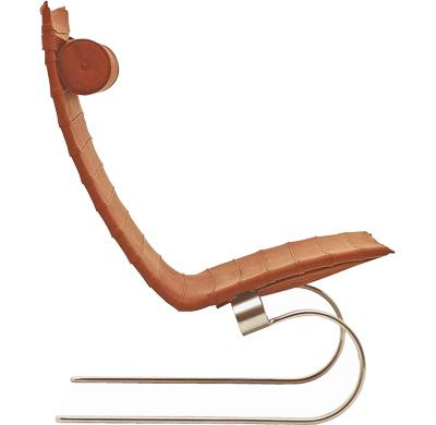 高靠背头枕悠闲的椅子
