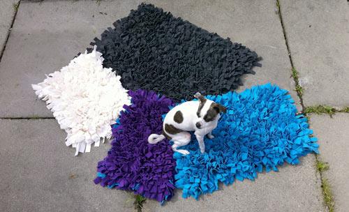 手工制作的宠物地毯