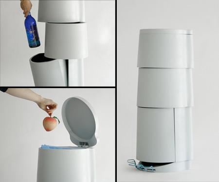 厨房垃圾桶及回收桶