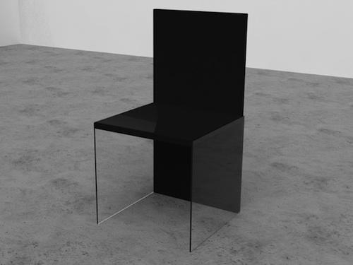 透明有机玻璃椅子腿