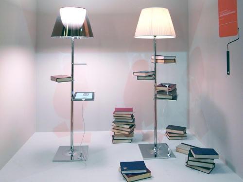 图书馆落地灯