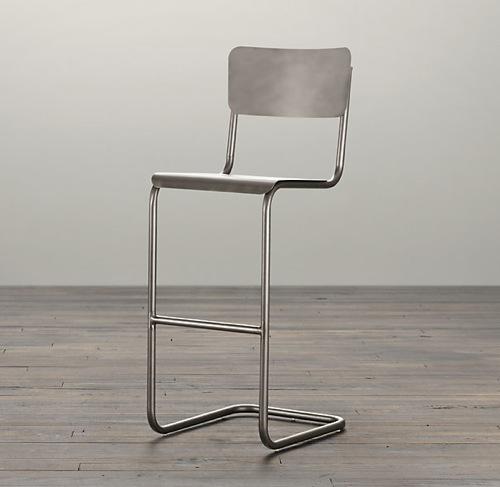 复古现代吧椅