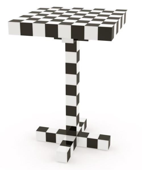 前端设计的方格棋桌
